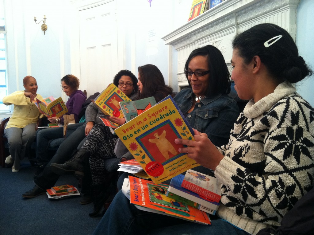 parents read from picture books
