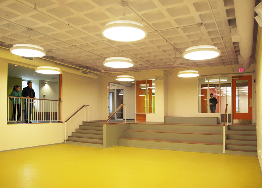 interior of community center