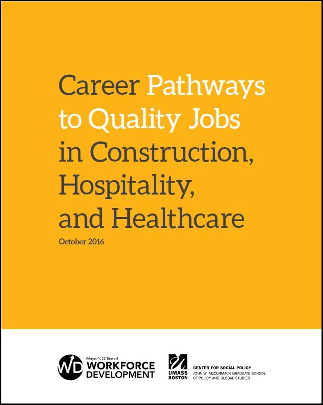 cover of Career Pathways report
