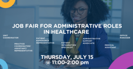 Virtual Job Fair for Administrative Roles
