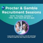 Procter and Gamble Recruitment Event