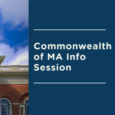 Commonwealth of MA Info Session